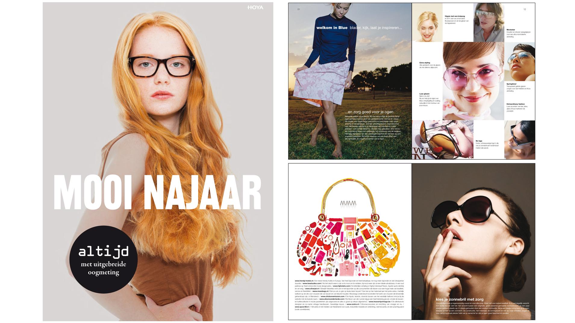 Concept en vormgeving voor campagnes en magazines - Hoya Vision Care