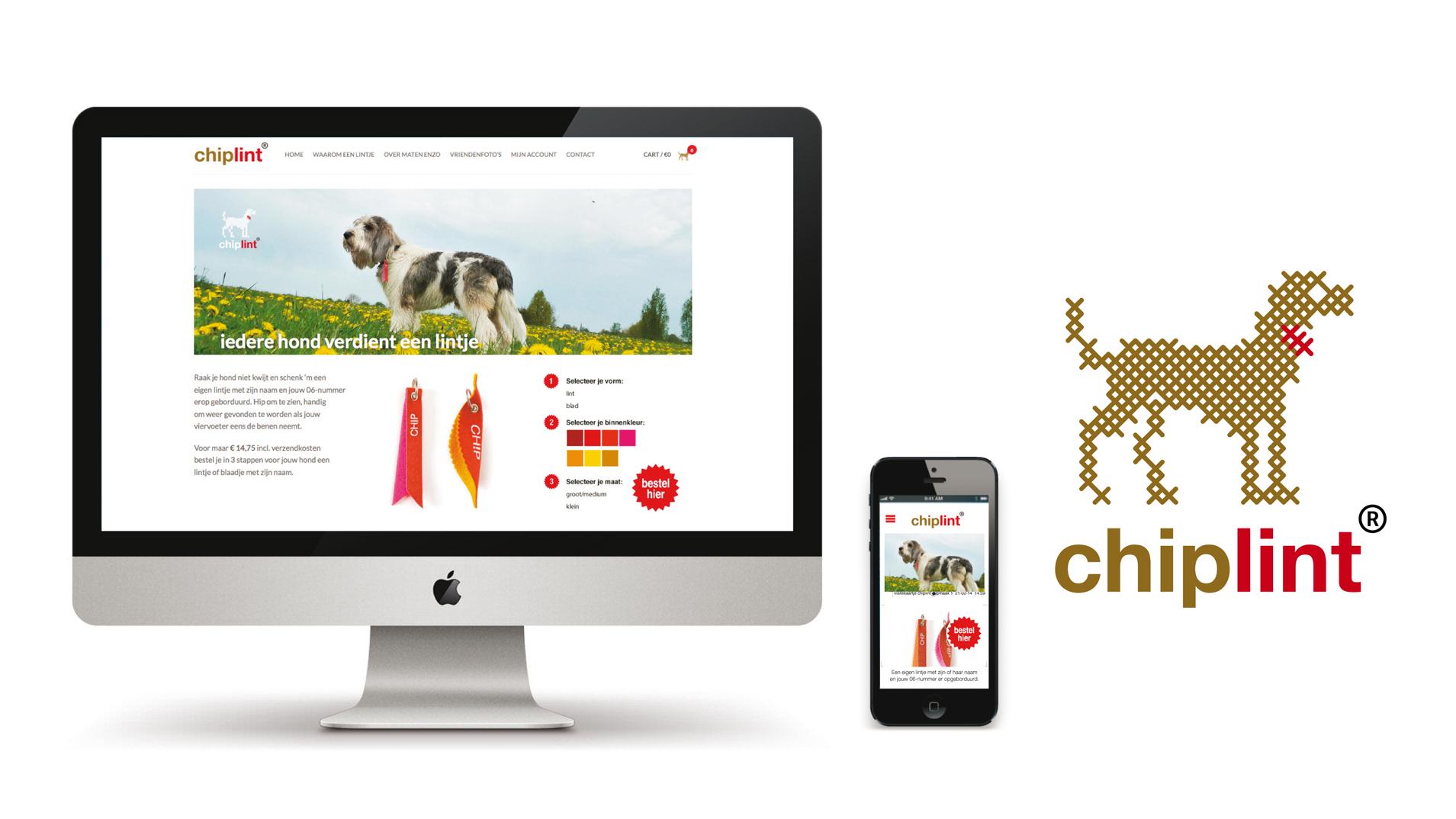 Idee, ontwikkeling en vormgeving voor het lanceren van een nieuw product - Chiplint